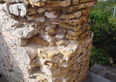 Stenen geroofd voor de barbecue