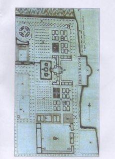 Huis Vrijburg plattegrond