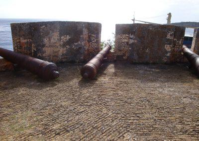 Kanonnen op de benedenomgang