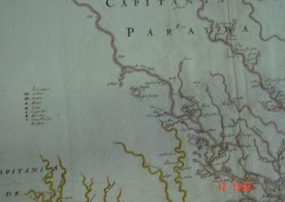 Vingboons Capitania Parayba, grens met Cap. Itamaracá