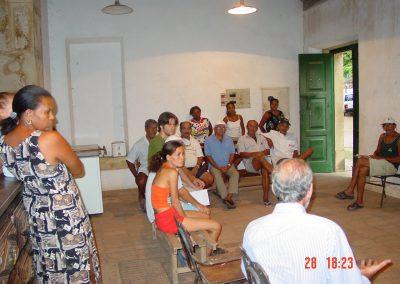 Odilon de Albuquerque Mello and Vila Velha people