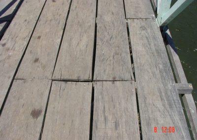 4. Cross-lath too small