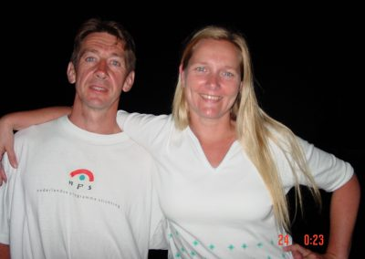 Frans Glissenaar and his Yvonne