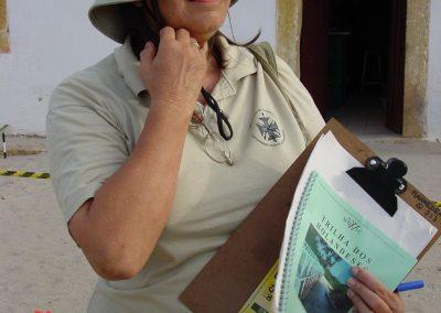 Hannedea in Fort Orange with Trilha documents IzanPf