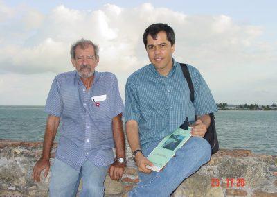 Odilon and Flavio at Fort Orange
