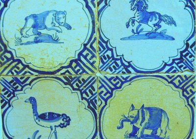 Afb. 12. Viertegeltableau Tegelmuseum