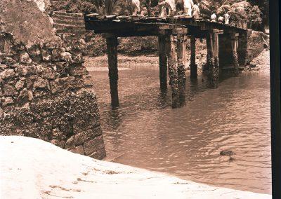 BRIDGE Vila Velha circa 1940. ARQUIVES Fund.Joaquim Nabuco