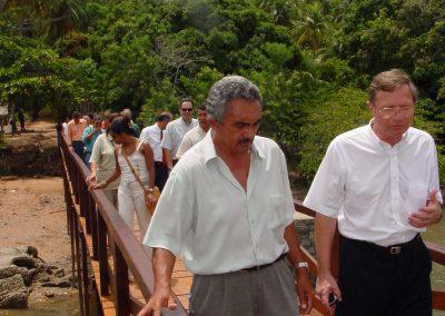 Inauguratie Ponte Nova Porte da VV, Davi e Robin