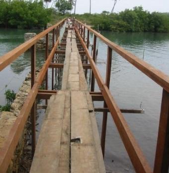 Nova Ponte dentro da velha