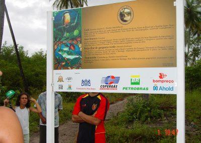 Placa Beija Flor Luiz Jasmin + Dr. Claudio Avellar