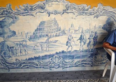 Port. Toren van Babel Kloosterhofgallerij; rest. Pict.HvNM 2011